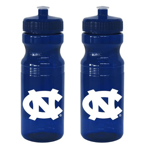 Boelter Brands University of North Carolina 24 oz. Squeeze Water Bottles 2-Pack