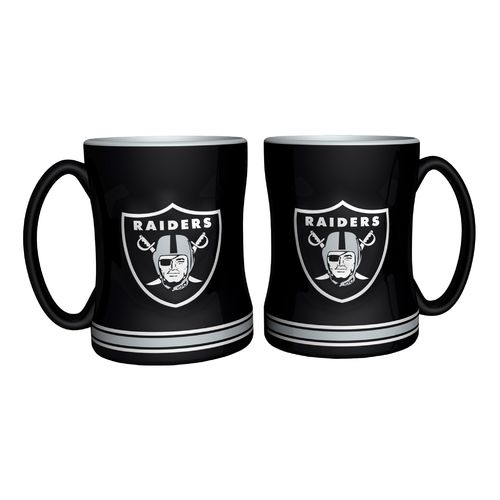 Boelter Brands Oakland Raiders 14 oz. Relief Mugs 2-Pack - view number 1