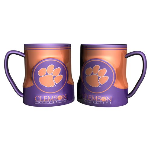 Boelter Brands Clemson University Gametime 18 oz. Mugs 2-Pack