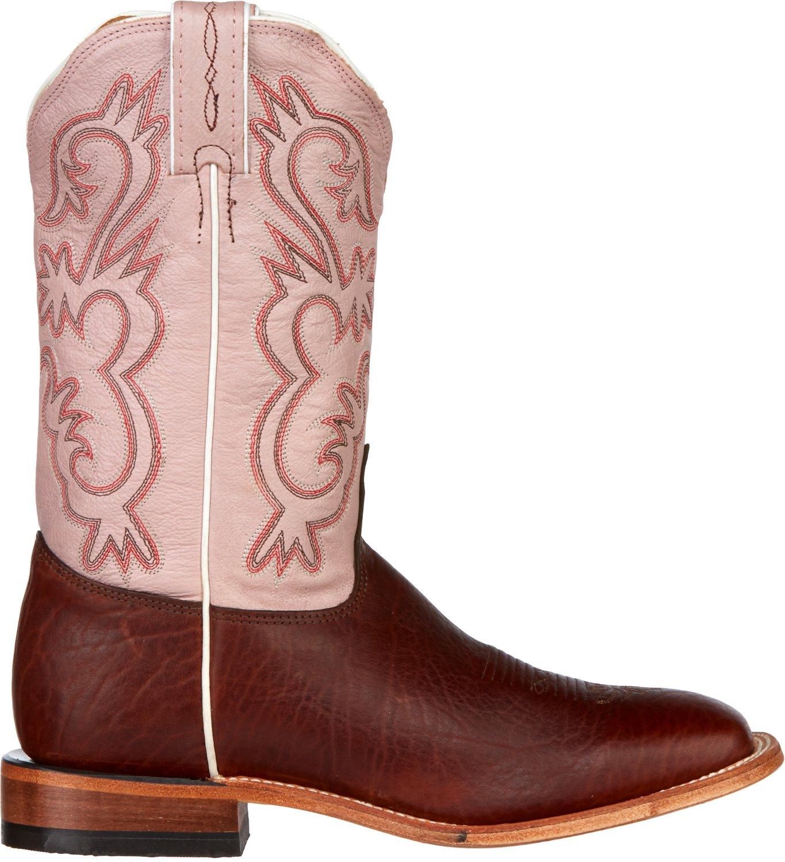 Tony Lama Women's Bison Americana Western Boots