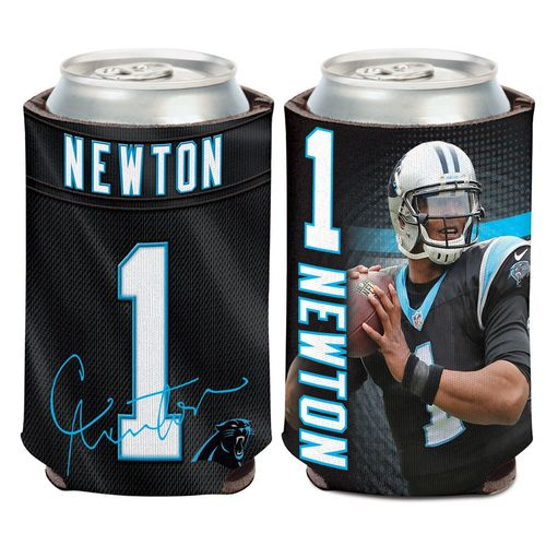 WinCraft Carolina Panthers Cam Newton 12 oz. Can