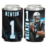 WinCraft Carolina Panthers Cam Newton 12 oz. Can Cooler