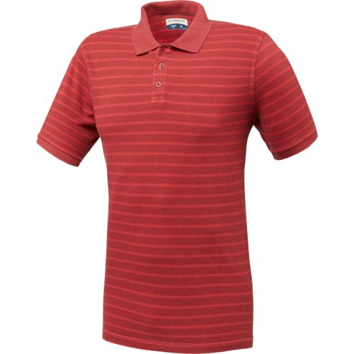 Magellan Outdoors™ Men's Rugged Heritage Stripe Short Sleeve Polo Shirt