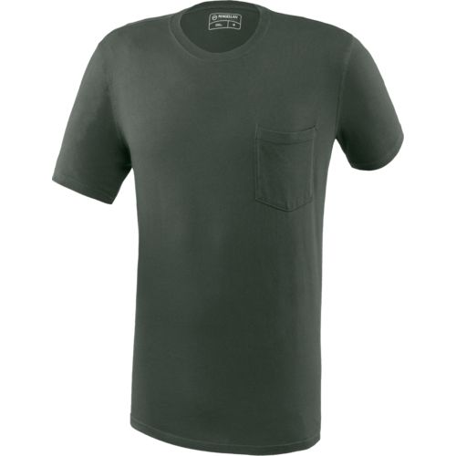 Magellan Outdoors Men's Territory Crew Neck Pocket T-shirt