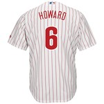Majestic Men's Philadelphia Phillies Ryan Howard #6 Cool Base Replica Jersey