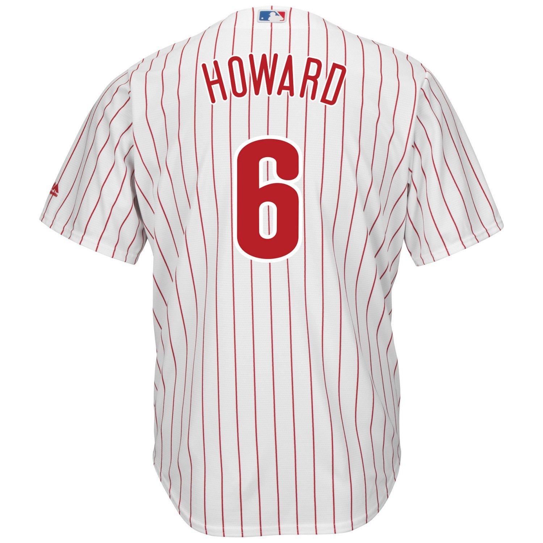 Majestic Men's Philadelphia Phillies Ryan Howard #6 Cool Base Replica Jersey