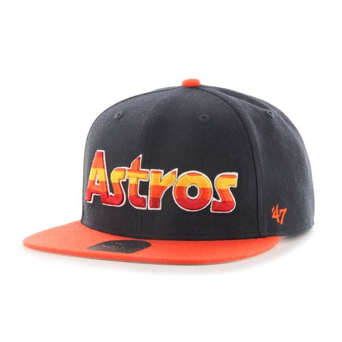'47 Houston Astros 2-Tone Sure Shot Cooperstown Captain Cap