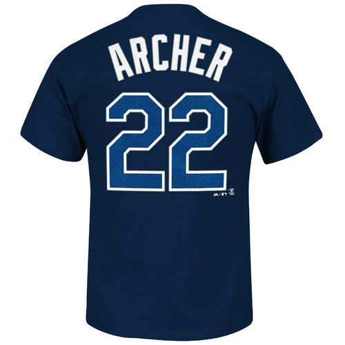 Majestic Men's Tampa Bay Rays Chris Archer #22 T-shirt