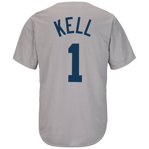 Majestic Men's Boston Red Sox George Kell #1 Cooperstown Cool Base 1969 Replica Jersey