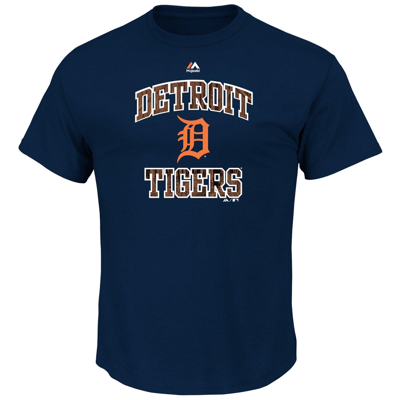 Majestic Men's Detroit Tigers Inside the Box T-shirt