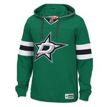 Reebok Men's Dallas Stars Face Off Jersey Pullover Hoodie