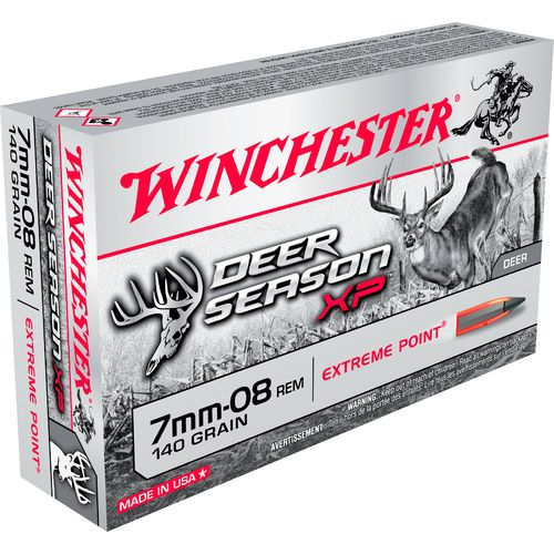 Display product reviews for Winchester Deer Season XP 7mm-08 Remington 140-Grain Rifle Ammunition