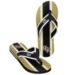 Forever Collectibles™ Men's University of Central Florida 2016 Contour Stripe Flip-Flops