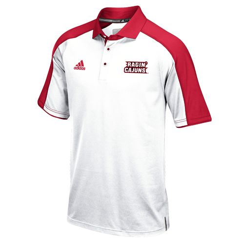 adidas™ Men's University of Louisiana at Lafayette Sideline Polo Shirt