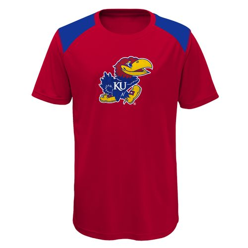 Gen2 Boys' University of Kansas Ellipse Performance Top