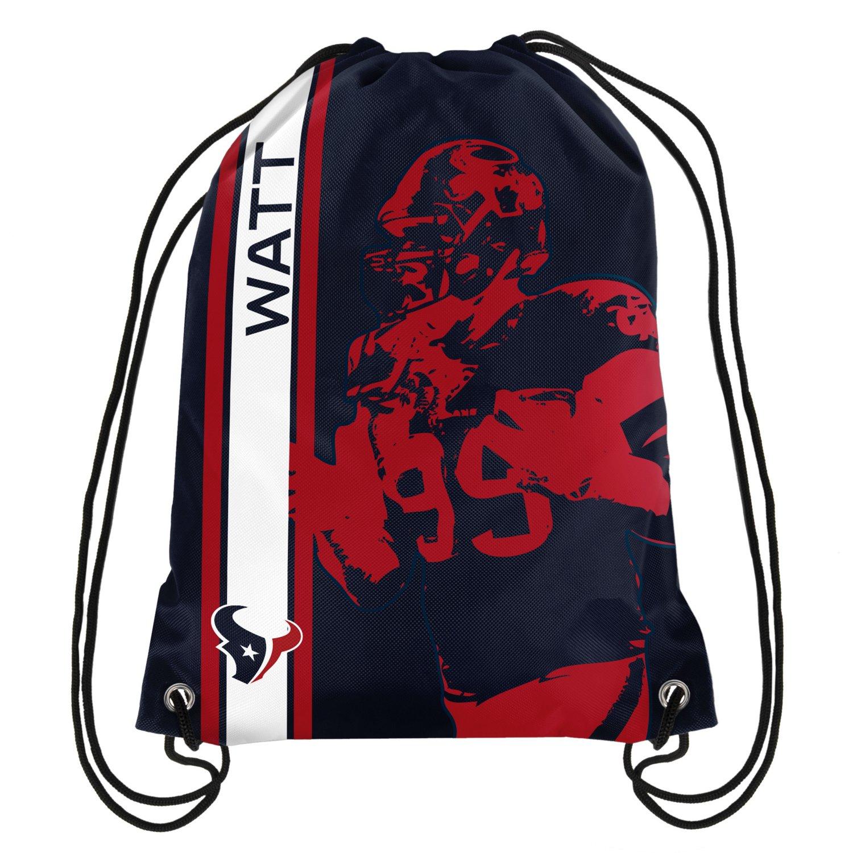 Team Beans Houston Texans J.J. Watt #99 Drawstring