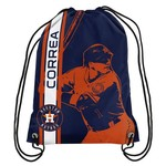 Forever Collectibles™ Houston Astros Carlos Correa #1 Drawstring Backpack