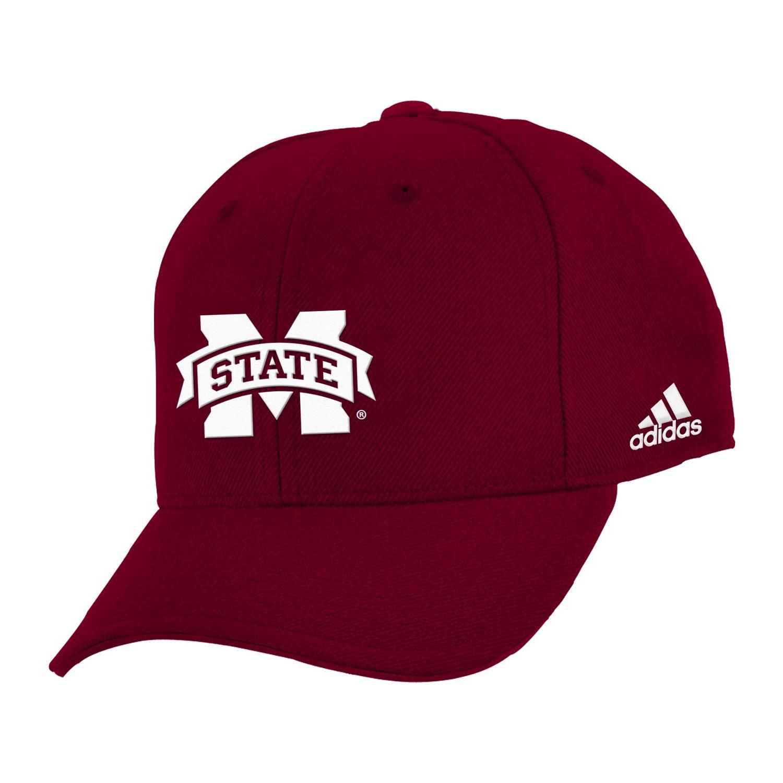 adidas™ Boys' Mississippi State University Structured Adjustable