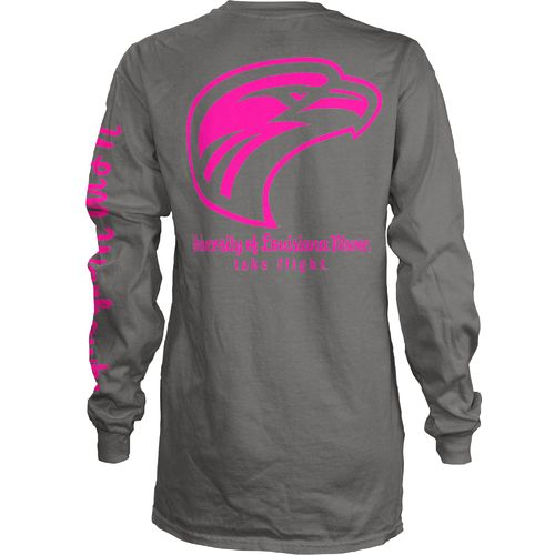 Three Squared Juniors' University of Louisiana at Monroe Cynthia Pocketed Long Sleeve T-shirt