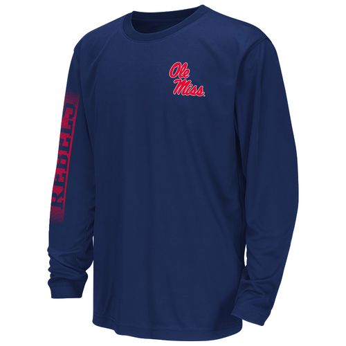 Colosseum Athletics™ Juniors' University of Mississippi Long Sleeve T-shirt