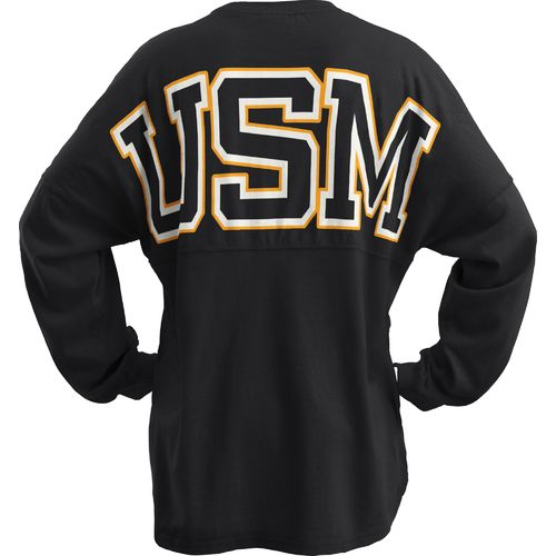 Three Squared Juniors' University of Southern Mississippi Big Time Outline Sweeper T-shirt