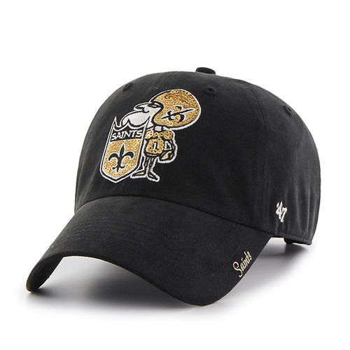 '47 New Orleans Saints Women's NFL16 Sparkle Cap