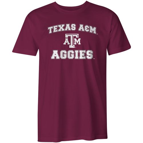 Image One Boys' Texas A&M University Arch Logo Comfort Color T-shirt