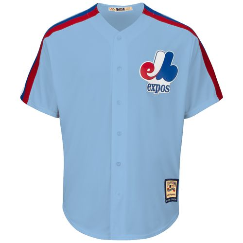 Majestic Men's Montreal Expos Gary Carter #8 Cooperstown Cool Base Replica Jersey - view number 3