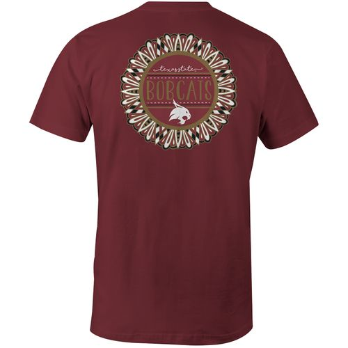Image One Women's Texas State University Color Me Comfort Color T-shirt