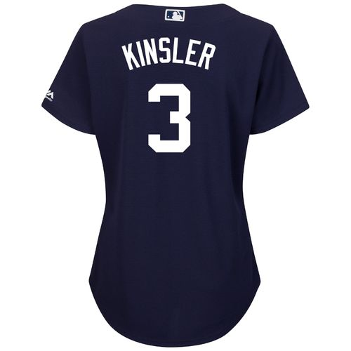 Majestic Women's Detroit Tigers Ian Kinsler #3 Authentic Cool Base Jersey