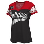G-III for Her Women's University of Georgia Pass Rush Fashion Top