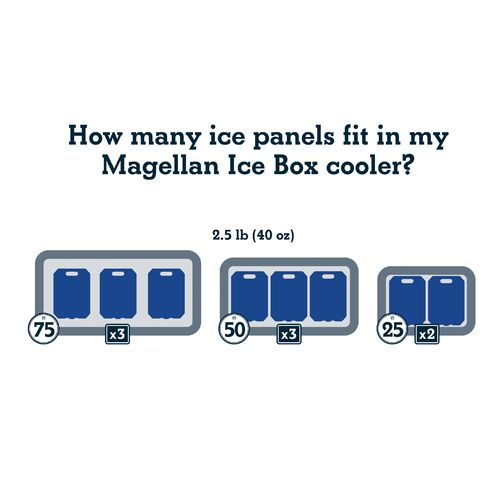Magellan Outdoors Stay Frozen Ice Box Ice - view number 5