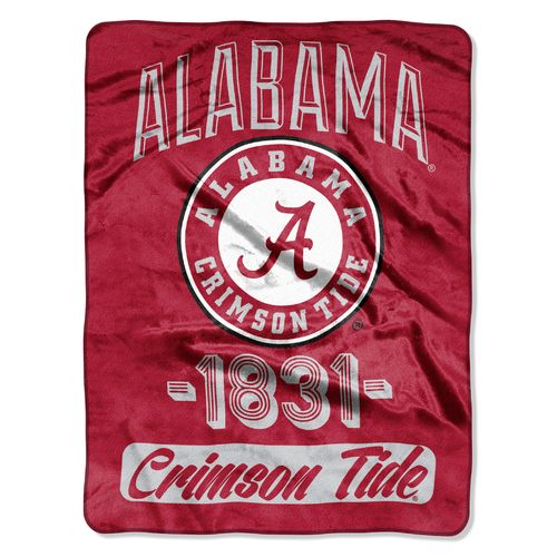 The Northwest Company University of Alabama Varsity Micro Raschel Throw