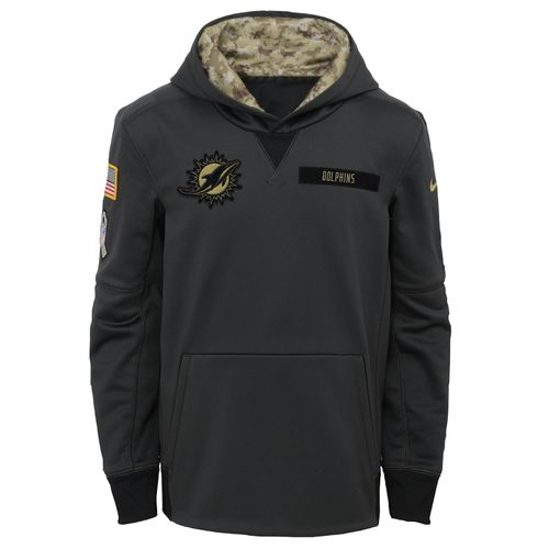 Nike™ Boys' Miami Dolphins Salute to Service Hoodie - view number 1
