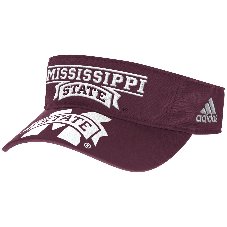 adidas™ Men's Mississippi State University Bonded Visor