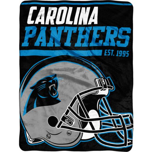 The Northwest Company Carolina Panthers 40-Yard Dash 46' x 60' Micro Raschel Throw