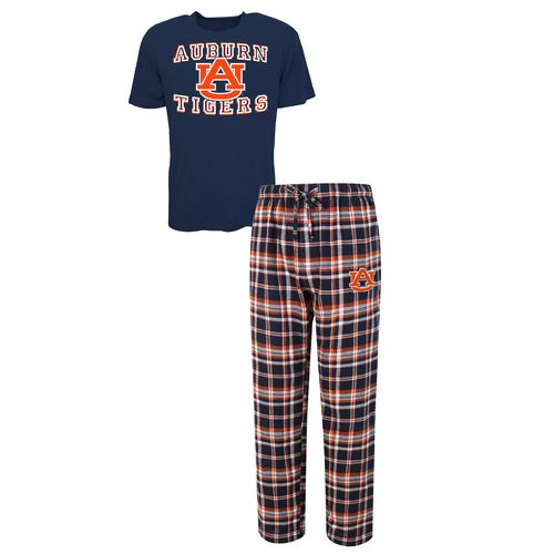 Concepts Sport™ Men's Auburn University Tiebreaker Shirt and Pant Set