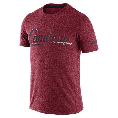 Nike™ Men's St. Louis Cardinals Marled Wordmark T-shirt