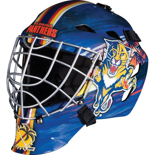 Franklin Kids' Florida Panthers 1500 Goalie Face Mask