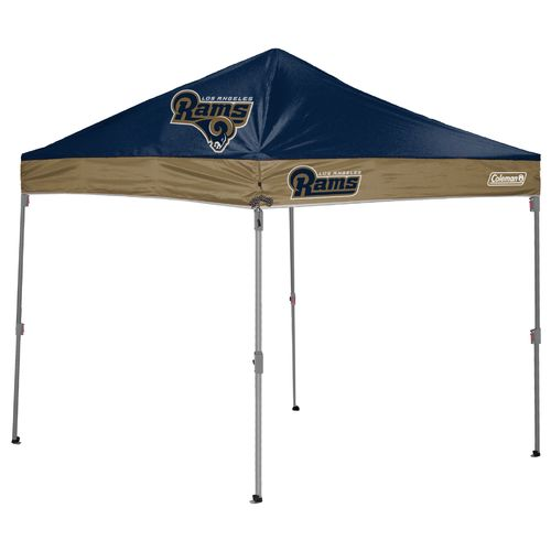 Coleman® Los Angeles Rams 10' x 10' Straight-Leg Canopy - view number 1