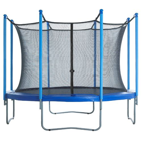 Upper Bounce® Replacement Trampoline Enclosure Net for 12' Round Frames with 8 Poles or 4 A - view number 6