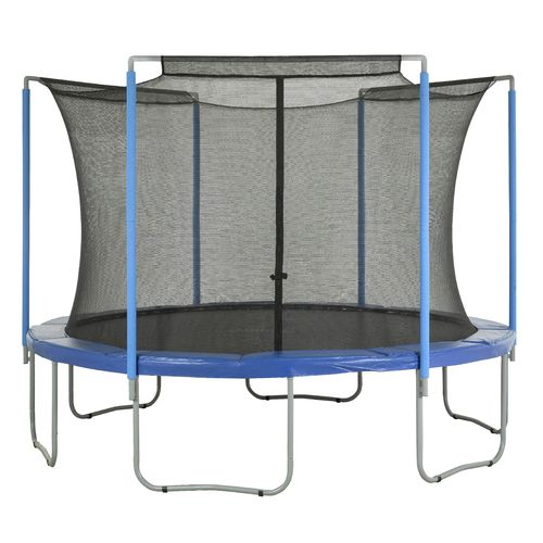 Upper Bounce® Replacement Trampoline Enclosure Safety Net for 15' Round Frames with 3 Arche - view number 5