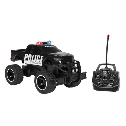 World Tech Toys Ford 150 SVT Raptor Police 1:14 RC Truck - view number 1