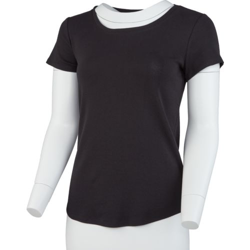 Display product reviews for BCG Women's Horizon Short Sleeve Crew Solid Heather Top