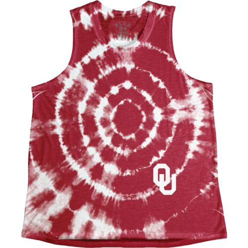 Blue 84 Women's University of Oklahoma Retro Liquid Muscle Tank Top