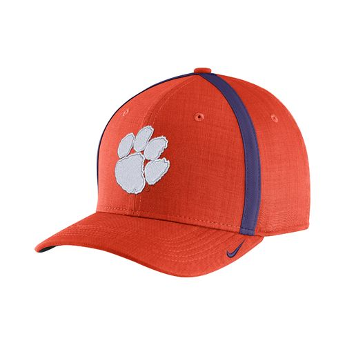 Nike Men's Clemson University AeroBill Sideline Coaches Cap