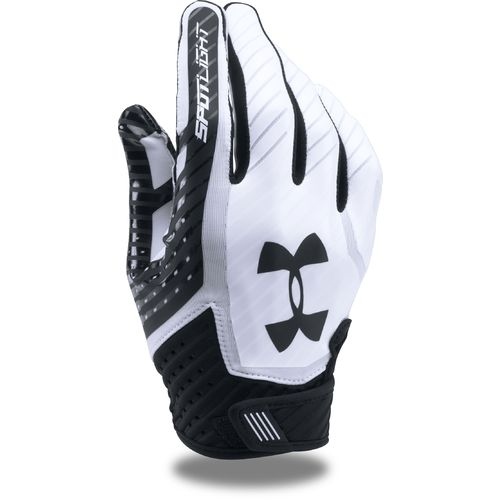 Display product reviews for Under Armour Adults' Spotlight Football Gloves