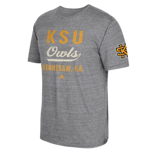 adidas Men's Kennesaw State University Stenciled Sweep T-shirt