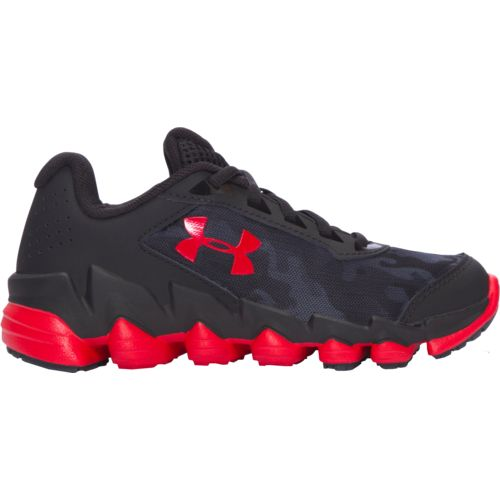 Under Armour Boys' UA Spine Disrupt Camo Running Shoes