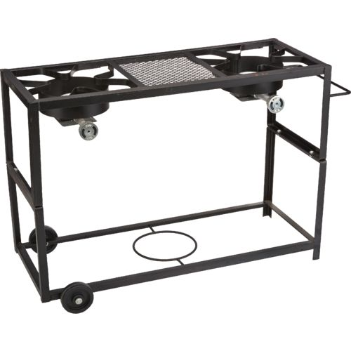 Display product reviews for Outdoor Gourmet Double Burner Propane Fry Cart